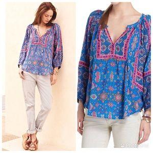 Anthropologie tolani blouse